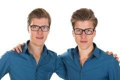 Gemelos del varón adulto Fotografía de archivo libre de regalías