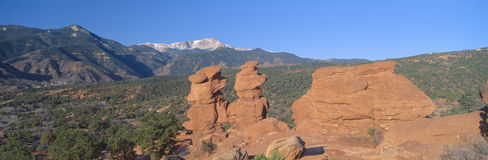 Gemelos siameses en Colorado Imágenes de archivo libres de regalías