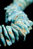 gemen stenar turkosvertical arkivbilder