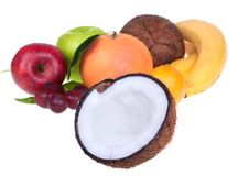 Gemengd fruit stock foto's