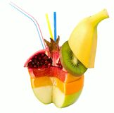 Gemengd Fruit Royalty-vrije Stock Afbeeldingen