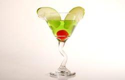 Gemengd fruit Martini Stock Afbeelding
