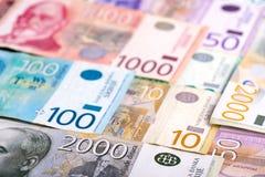 Gemengd Servisch geld royalty-vrije stock fotografie