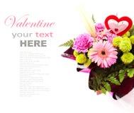 Gemengd Valentine Flower Royalty-vrije Stock Fotografie