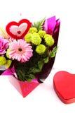 Gemengd Valentine Flower Royalty-vrije Stock Foto
