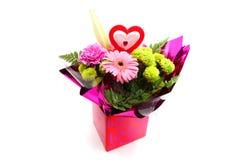 Gemengd Valentine Flower Royalty-vrije Stock Foto's