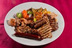 Gemengd vlees Stock Foto