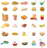 Gemengd voedsel royalty-vrije illustratie