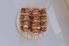Gemengde barbecue Stock Foto