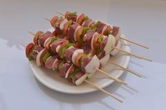Gemengde barbecue Stock Fotografie