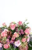 Gemengde bloemenachtergrond Stock Afbeeldingen