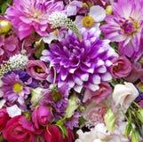 Gemengde Bloemenvertoning Royalty-vrije Stock Afbeelding