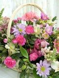Gemengde Bloemenvertoning Royalty-vrije Stock Foto's