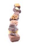 Gemengde chocolade royalty-vrije stock afbeeldingen