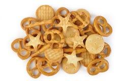 Gemengde cracker Stock Afbeeldingen