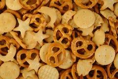 Gemengde crackers Royalty-vrije Stock Foto