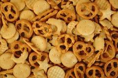 Gemengde crackers Royalty-vrije Stock Afbeeldingen