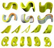 Gemengde elementen Stock Foto's
