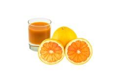 Gemengde grapefruit Royalty-vrije Stock Afbeeldingen