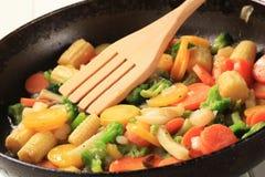 Gemengde groenten Stock Foto