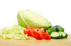 Gemengde groenten van de tuin Royalty-vrije Stock Afbeelding