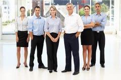 Gemengde groep bedrijfsmensen Royalty-vrije Stock Afbeeldingen