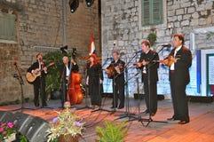 Gemengde groep (man en vrouw) Ragusa-Dubrovnik Stock Fotografie