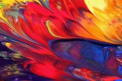 Gemengde kleur Stock Afbeelding