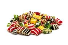 Gemengde kleurrijke fruitbonbon Royalty-vrije Stock Afbeeldingen