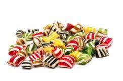 Gemengde kleurrijke fruitbonbon Stock Foto's