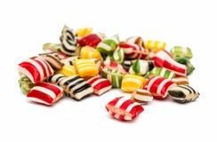 Gemengde kleurrijke fruitbonbon Royalty-vrije Stock Fotografie