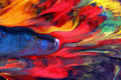 Gemengde magische kleur Stock Fotografie