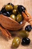 Gemengde olijven Royalty-vrije Stock Fotografie