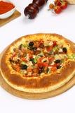 Gemengde pizza royalty-vrije stock fotografie