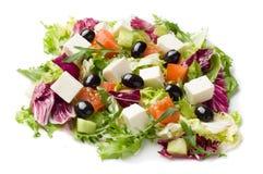 Gemengde plantaardige salade Stock Afbeeldingen