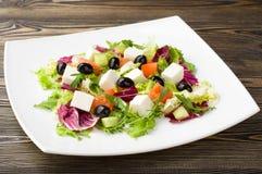 Gemengde plantaardige salade Stock Foto
