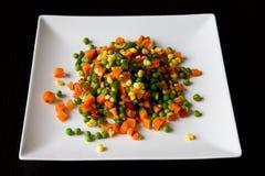 Gemengde plantaardige salade Stock Fotografie
