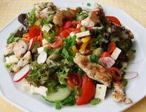 Gemengde salade 2 Stock Afbeelding