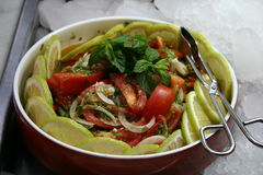 Gemengde Salade Stock Afbeelding