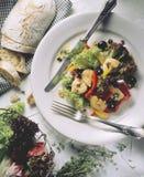 Gemengde salade Royalty-vrije Stock Fotografie