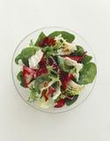 Gemengde salade Royalty-vrije Stock Afbeelding