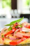 Gemengde saladeaanzet Royalty-vrije Stock Foto's