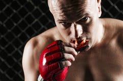 Gemengde vechtsportenvechter Royalty-vrije Stock Fotografie