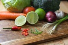 Gemengde verse groenten Royalty-vrije Stock Foto's