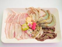 Gemengde vleesplak Stock Afbeeldingen