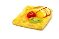 Gemengde vruchten pastei Stock Afbeelding