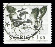 Gemensam kran (Grusgrusen), Definitives serie, circa 1968 Arkivbild