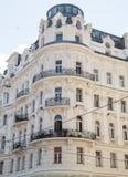 Gemensamma byggnader i Wien royaltyfria foton
