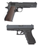 Gemensamma pistoler Arkivfoton