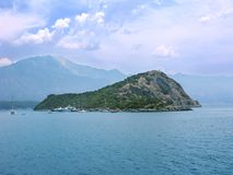 Gemiler island landscape fethiye turkey Royalty Free Stock Photos